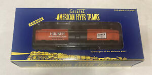 S GAUGE AMERICAN FLYER HOOKER THREE DOME TANKE CAR 6-48415 NOS