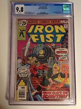 CGC 9.8 Iron Fist #5 White pages 1st appearance Scimitar