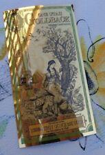 2021 ONE UTAH GOLDBACK Aurum Gold Foil Note - 24K gold 1/1000 oz.