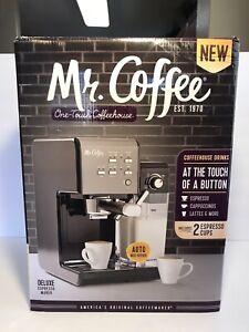 Mr. Coffee One-Touch Coffeehouse Espresso and Cappuccino Machine - Brand New!