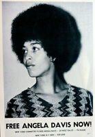 FREE ANGELA DAVIS 1970 JAILED A YEAR THEN AQUITTED 2ND PRINTING SCARCE