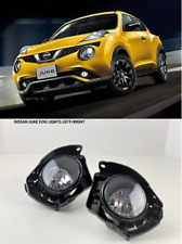 FOR NISSAN JUKE 2015 2016 2017 BUMPER LAMPS FOG LIGHTS PAIR LEFT + RIGHT SET