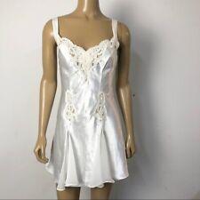 Victoria's Secret Women's Bridal Silky/Satin Embroidered Teddie Nightie Lingerie