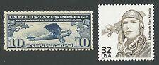 1927 Charles Lindbergh Flies Atlantic Spirit of St. Louis US Stamps Set MINT C10