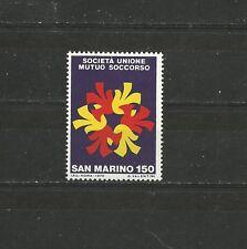 San Marino 1976 Centenary of the mutual aid society union MNH