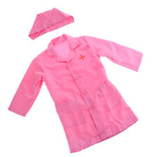 Nurse Pretend Play Uniform Cosplay Costumes Dress Up Set for Kids Girl