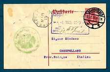 GERMANY - GERMANIA REICH - 1910 - CARTOLINA POSTALE. Dest. Crespellano/BO. R720