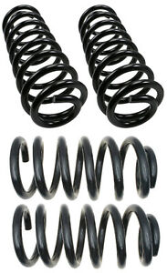 4 Coil Springs MOOG Front & Rear for AVALANCHE Suburban TAHOE Yukon 2007-10