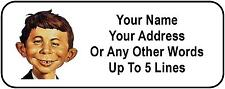 30 Alfred E Neuman Personalized Address Labels