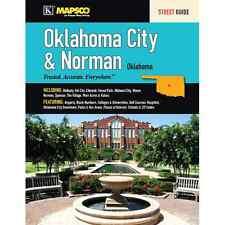 Oklahoma City & Norman OK Mapsco Street Atlas