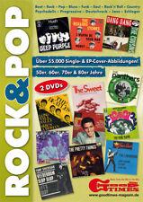 Rock Pop Single EP Cover Archiv 2 DVD Roms