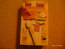 NEW Clever Cracker and Egg Scrambler As Seen On TV Combo Pack