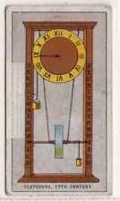 17th Century Clepsydra Timekeeper Time Piece 1920s Ad Trade Card