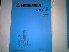MITSUBISHI PARTS MANUAL #PMWS15 (99)