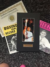 "Muhammad Ali Signed ""I Am The Greatest"" Olympic Touch Image+ 2 1960s Boxing mags"