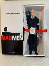 Mad Men Roger Sterling 2010 Barbie Doll.GOLD LABEL~10,000.LIM.ED.NRFB.MINT