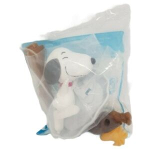 Spinning Snoopy McDonald's Toy Snoopy & Charlie Brown The Peanuts Happy Meal