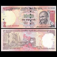 India 1000 1,000 Rupees, 2014, P-New 107, UNC