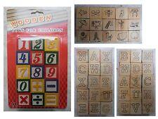 15 cubi cubetti in legno con numeri lettere figure addizioni sottrazioni calcoli