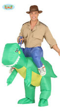 Dino Tragekostüm Costume Chevalier Dino Gonflable avec Moteur Huckepack Costume