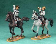 BRITAINS CIVIL WAR CONFEDERATE BUGLER & SERGEANT  ~ 17402