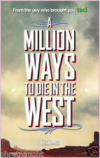 A MILLION WAYS TO DIE IN THE WEST - DVD DISC ONLY - SETH MACFARLANE