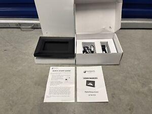 """SmartParts Digital Picture Frame 9""""x6.5"""" Black Wood Frame Optipix Brand New"""