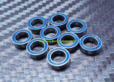 [10 Pcs] MR83-2RS (3x8x3 mm) Rubber Sealed Ball Bearings Bearing MR83RS BLUE