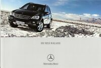 Prospekt / Brochure Mercedes M-Klasse 09/2005