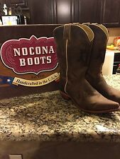 Womens Nocona Texas A&M Cowboy Boots size 10