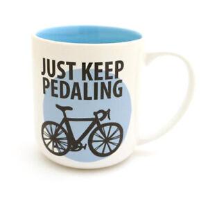 Just Keep Pedaling Mug