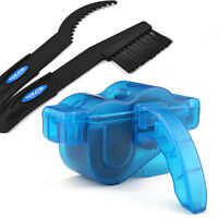 Cycling Bike Bicycle Wash Cleaner Chain Wheel Tool Cleaning Brushes Scrubber