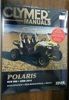 New Clymer Repair Manual Polaris RZR800 2008-2014  M292