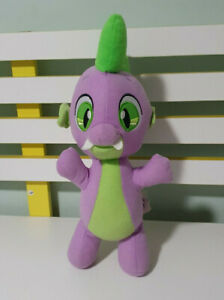 SPIKE PLUSH TOY MY LITTLE PONY PURPLE DRAGON HASBRO 2017 CHARACTER TOY 31CM