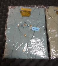 Camel Trophy Adventure Wear Safari Shirt Cargo Button Short Sleeve Bnsai Size XL