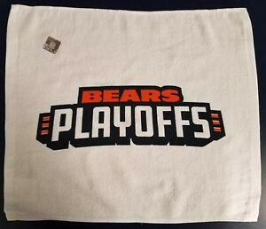 Chicago Bears Playoffs Rally Towel NFL Playoff 1-6-2019 SGA Philadelphia Eagles