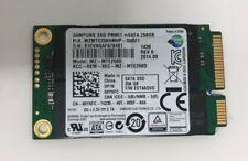 Samsung 256GB SSD mSATA mzmte 256 hmhp - 000D1 MZ-MTE256D Unidad De Estado Sólido