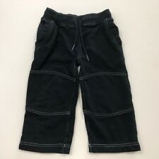 Hanna Andersson Black Lounge Pants Size 90 2T 3T