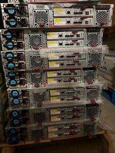 HP StorageWorks D2700 AJ941 Disk Enclosure 25 Bay SFF 2x 460W PSU 2x AJ941-04402