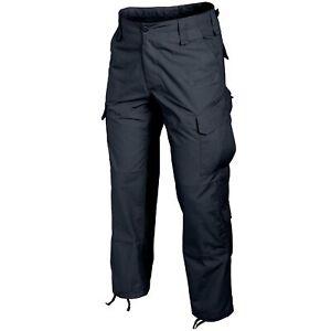 Helikon Tex CPU-Hose Pants Navy Blue Ripstop Cargo Combat Patrol Uniform