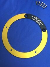 Tmax530 T-max 530  Pulley Cover Transmission Belt Gold