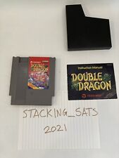 Double Dragon - Nes Game, Manual & Dust Sleeve - Cleaned - Tested - Authentic
