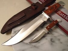 Timber Rattler Big Duo Hunter Bowie Combat Knife/Knives 2Pc Set Full Tang TR71