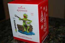 2013 Hallmark The Rainbow Connection Kermit the Frog Muppets Magic Xmas Ornament