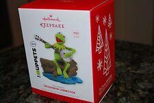2013 Hallmark The Rainbow Connection Kermit the Frog Muppets Magic Xmas Ornament