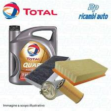 KIT 4 FILTRI + OLIO TOTAL ENERGY 5W40 VW GOLF IV 1.9 TDI 90 CV..