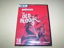 Wolfenstein The Old Blood ** New & Sealed**  PC