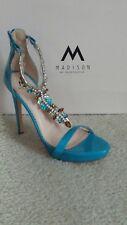 Women's Blue Balwin Jeweled Sandals Size 8.5