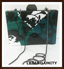 Mimco Virtuoso Box Evening Clutch Purse Hardcase Hand Bag BNWT RRP$229 Jade