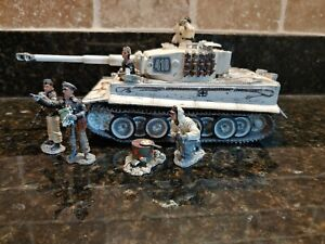 """King and Country WS70SL """"Winter Tiger"""" Tank. Strictly Limited production."""